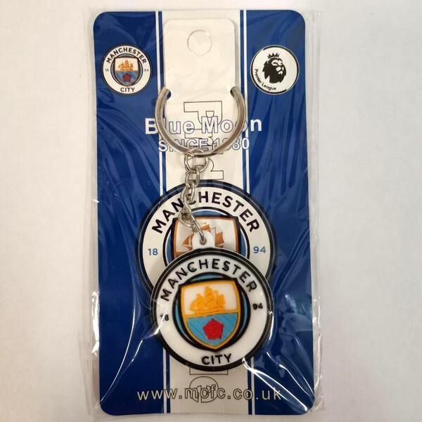Брелок с клубной эмблемой Манчестер Сити