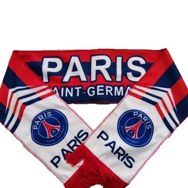 Фанатский шарф футбольного клуба ПСЖ из флиса