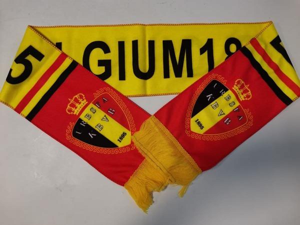 Флисовый шарф сборной Бельгии