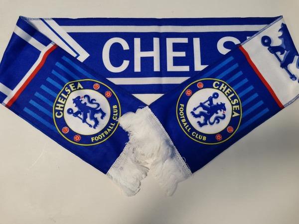 Фанатский шарф Челси из флиса
