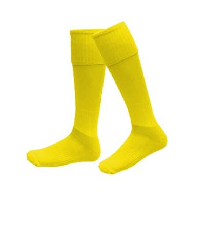 Детские гетры желтые