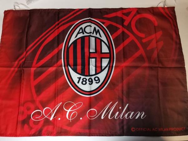 Клубный флаг ФК Милан