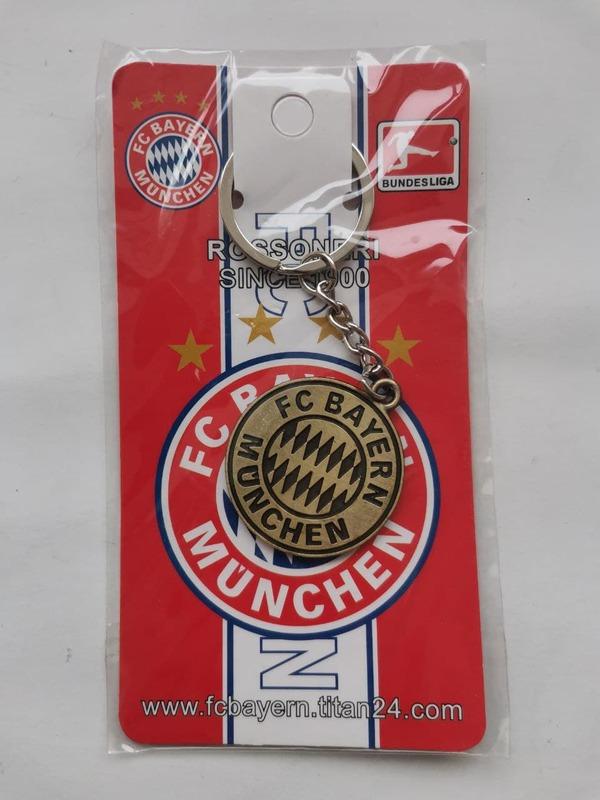 Металлический брелок с эмблемой Бавария