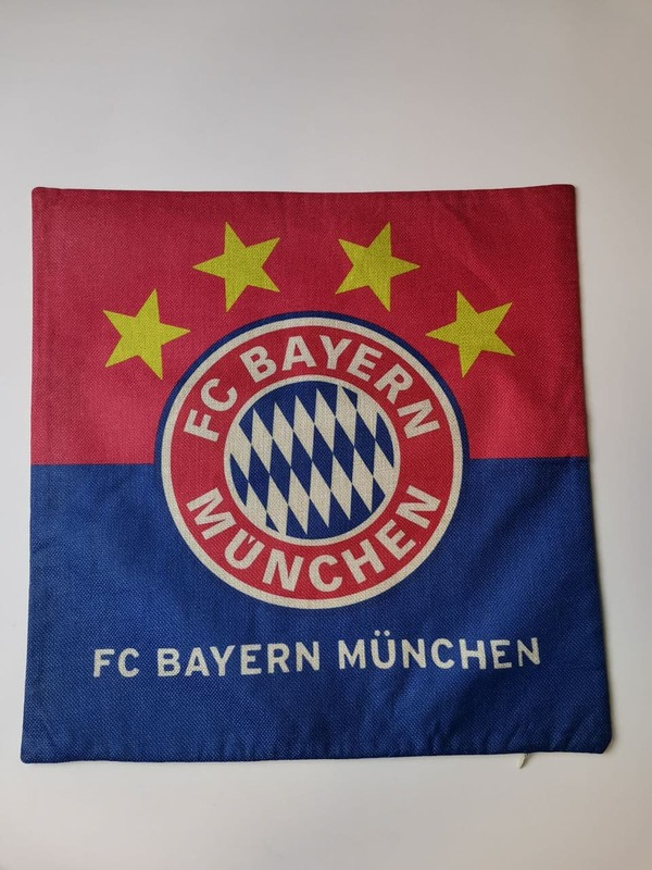 Наволочка на подушку с эмблемой Бавария Мюнхен