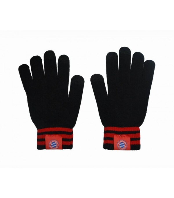 Вязаные перчатки с эмблемой Баварии Мюнхен