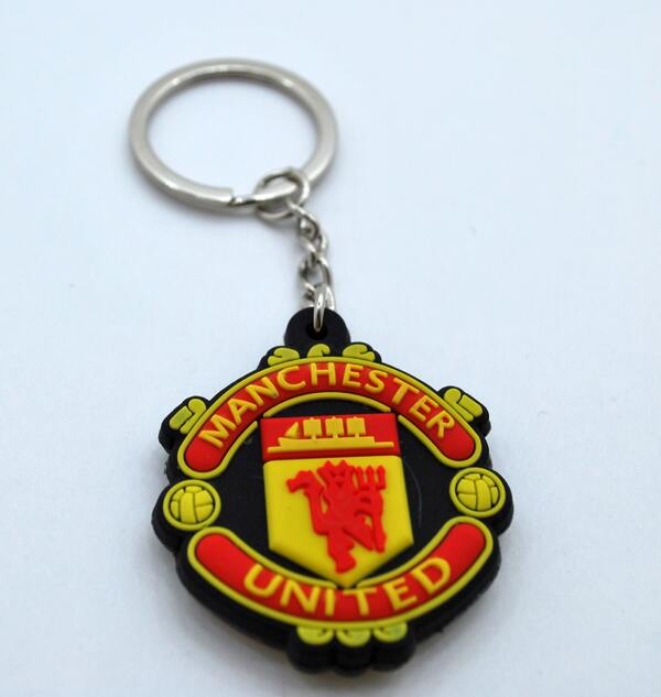 Брелок с эмблемой Манчестер Юнайтед