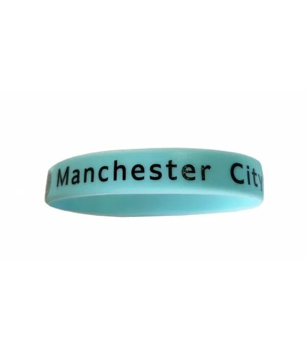 Силиконовый браслет Манчестер Сити