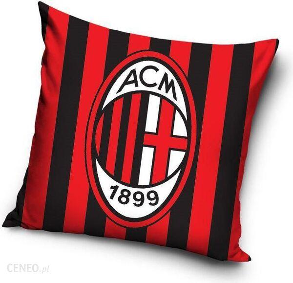 Наволочка на подушку с эмблемой Милана