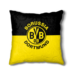 Наволочка на подушку с эмблемой Боруссия Дортмунд